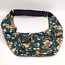 D&D Sport Sling Backpack Shoulder Travel Sport Day Pack Chest Bag Hawaii Floral
