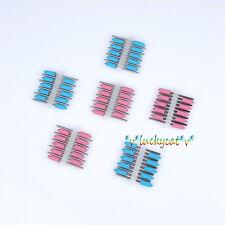 60Pcs Dental SILICONE Polishers Resin Base Acrylic Polishing Burs Pink And Blue