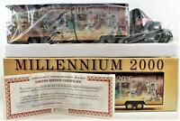 Millennium 2000 Diecast Truck Tractor Trailer Commemorating The 20th Century