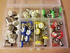 Fits Lincoln 51PC Asst BRIGHT* 12V LED Instrument Panel BA9S Light Bulb Kit NOS