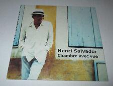 Henri Salvador - chambre avec vue - cd single 2 titres 2001
