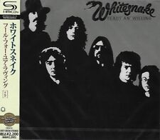 WHITESNAKE READY & WILLING JAPAN 2011 SHM REMASTERED CD +5 - NEW & GIFT QUALITY