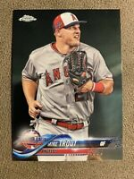 2018 Topps Chrome Update #HMT69 Mike Trout - Los Angeles Angels