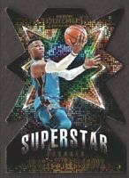 2018-19 Panini Contenders Superstar Die Cuts #8 Russell Westbrook OKC Thunder