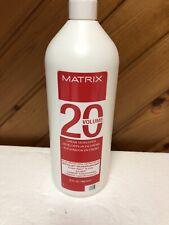 Matrix 20 volume Cream Developer 32 oz New