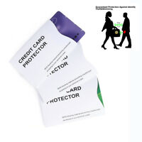 1/5/10Pcs Anti Theft Credit Card Protector RFID Blocking Aluminum Sleeve Shield-