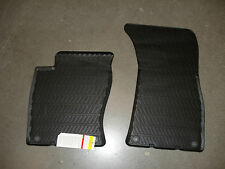 AUDI A8 S8 2004-2010 RUBBER ALLWEATHER FLOOR MAT, FRONT OEM New 4E1061221041