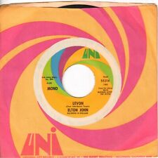 Pop Rock Elton John Levon / Goodbye Uni Original 45 Near Mint Nm