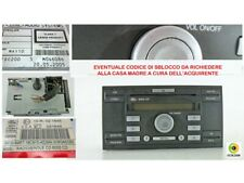 AUTORADIO 4M5T18C815AE LETTORE CD AUDIO 10R021645 - FORD FOCUS 2.0TDCI 2005 -51C