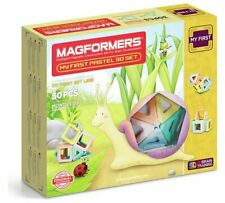Magformers Colores Pastel 30 Magnético Formas