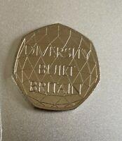 New Uncirculated Diversity built Britain commemorative  50p coin