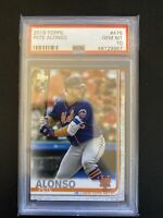 2019 Topps Pete Alonso RC New York Mets 475 PSA 10