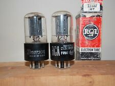 RCA 12SN7GT vacuum tubes tested and guaranteed