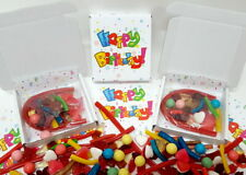 Halal Prefilled Happy Birthday Sweet Box Unisex Party Cones Alternative