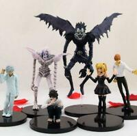 Death Note anime PVC figure figures  toys set of 6pcs doll dolls L11 Collect