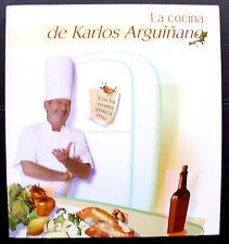 LA COCINA DE KARLOS ARGUIÑANO  - TAPA BLANDA - COMO NUEVO - PROMENADE