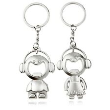 Pack 2 LLAVEROS Niño y Niña Boy and girl keychain   A1042