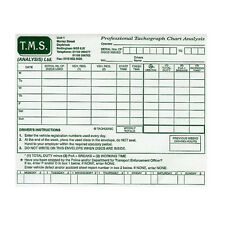 x15 Tachograph Paper Chart Envelopes, HGV/PCV, Can also hold digital printouts!