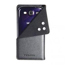 Tucano Tape Universal Folio Case mit Strahlenschutz für Smartphones, M, schwarz