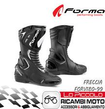 A-Pro Stivali Stivaletto Moto Racing Pelle Pista Professionale Traspirante Nero 43