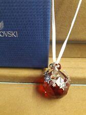 Swarovski, Christmas Ornament Light Siam Satin, #1144685, New, Mib, Free Ship