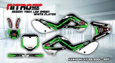 KAWASAKI KX 65 2001 - 2017 01-17 Graphics Kit Decals Design Stickers Motocross