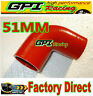 """NEW Silicone 90 degree Elbow Hose Pipe 2"""" 51mm turbo intercooler"""