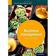 Business Management Study Guide: Oxford IB Diploma Programme: 2014 by Lloyd Gutteridge (Paperback, 2014)