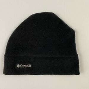 Columbia Sportswear Small Youth Gray Polyester Fleece Outdoor Beanie Hat