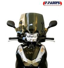 FABBRI CUPOLINO FUME' SCURO SPORT HONDA SH 300 2016 BLACK SCREEN SCOOTER
