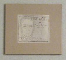 DIGIPACK-CD-FRANCIS CABREL-VISE LE CIEL-BOB DYLAN REVISITEV-2012
