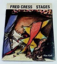 FRED CRESS - STAGES AUSTRALIAN Modern Art book SIGNED by artist 1st edition 1989