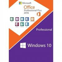✅ BUNDLE ✅ Windows 10 Pro / Office 2016 Professional Plus ✅30 Sec Mail Shipping