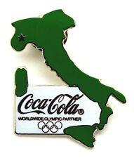 Pin Spilla Olimpiadi Torino 2006 - Coca-Cola Profilo Italia
