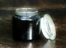 150hr 900g BLACK GINGER Soy CANDLE with GLASS SNUFFER CREATES POSITIVE ENERGIES