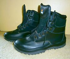 New MONGREL Black Size 13 AU / USA Mens Safety Boots Mens Workboots Steel Toe