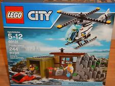 NEW LEGO City Crooks Island 60131 Helicopter Scooter 3 Minifigures Police Set
