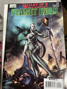What If Planet Hulk 1 First appearance of Skaar Son of Hulk 2007 Near Mint 9.4