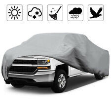 Waterproof Pickup Truck Cover Rain Snow Dust Protection For Chevrolet Silverado