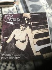 "WOLFMAN FT. PETER DOHERTY For Lovers 7"" Black Vinyl Pic MINT The Libertines"