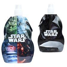 Star Wars Plegable Agua Botella De Bebida Con Mosquetón