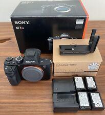 Excellent Sony Alpha a7R II Digital Camera w/ Extra Batteries, L-Bracket & Strap