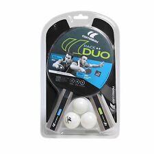 Pack de raquette de tennis de table + 3 balles sport duo de Cornilleau