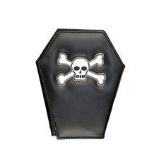 Wallet Coffin Portefeuille Rock Daddy Cercueil Skull Bones Crâne Gothic Gothique