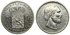 Netherlands - 2½ Gulden 1871