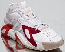 adidas Originals Streetball Men's White Maroon Grey Lifestyle Sneakers Shoes