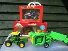 BRITAINS  SIKU ERTL TRACTORS/FARM ITEMS JOB LOT