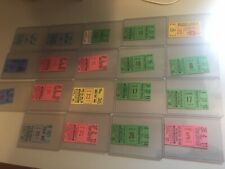 Lot of 19 Baltimore Orioles 1973 Ticket Stubs vs Various Baseball Teams !