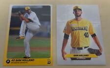 2018 Sam Holland Baseball Cards Brisbane Bandits Australian Baseball League