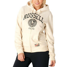 Russell Athletic Mujer Cremallera Completa Retro Chaqueta con Capucha Sudadera -